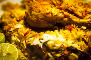 Chicken Biryani most ordered food item in 2017