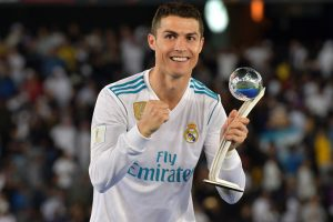 'Room for more' as Cristiano Ronaldo wins another Globe award