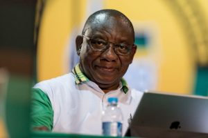 South African ruling party's new leader calls for unity