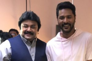 Prabhudheva 'very happy' to act with Prabhu