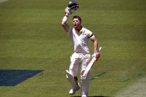 David Warner ton after no-ball reprieve hands Australia solid start