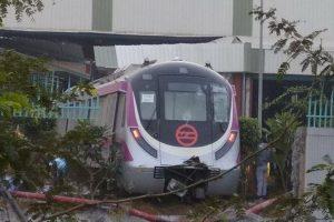 Mishap on Delhi Metro's yet-to-be-opened Magenta Line