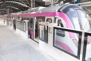 Full Magenta Line likely to open for public within April