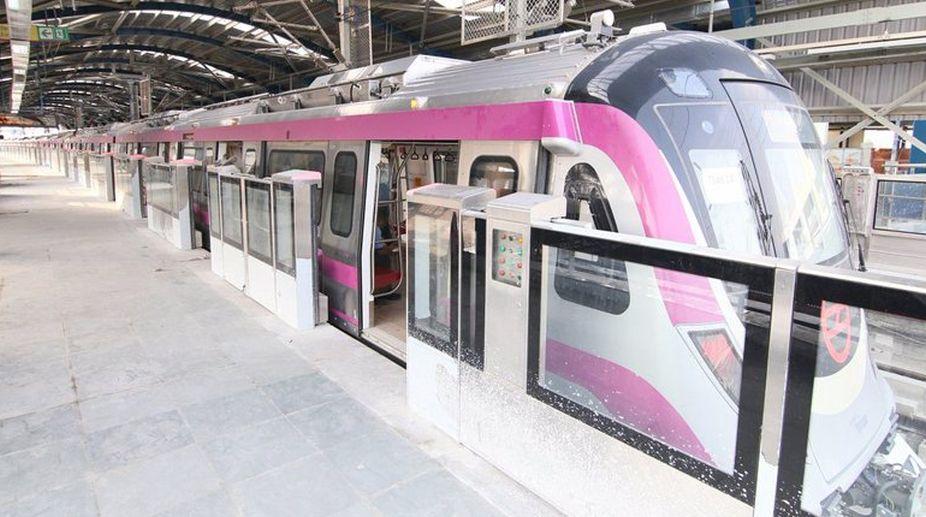Delhi Metro, DRMC, Metro, Swacch Bharat Abhiyan, Magenta Line