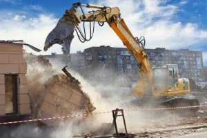 Day after inferno, BMC carries out demolition drive in Kamala Mills