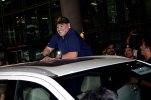 Diego Maradona arrives in 'City of Joy' sans fan-frenzy