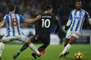 Premier League: Top shots from Huddersfield Town vs Chelsea