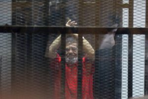 Ex-Egyptian President sentenced for insulting judiciary