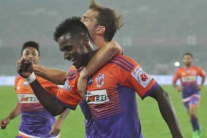 Pune City floor NE United, move to 2nd spot in ISL