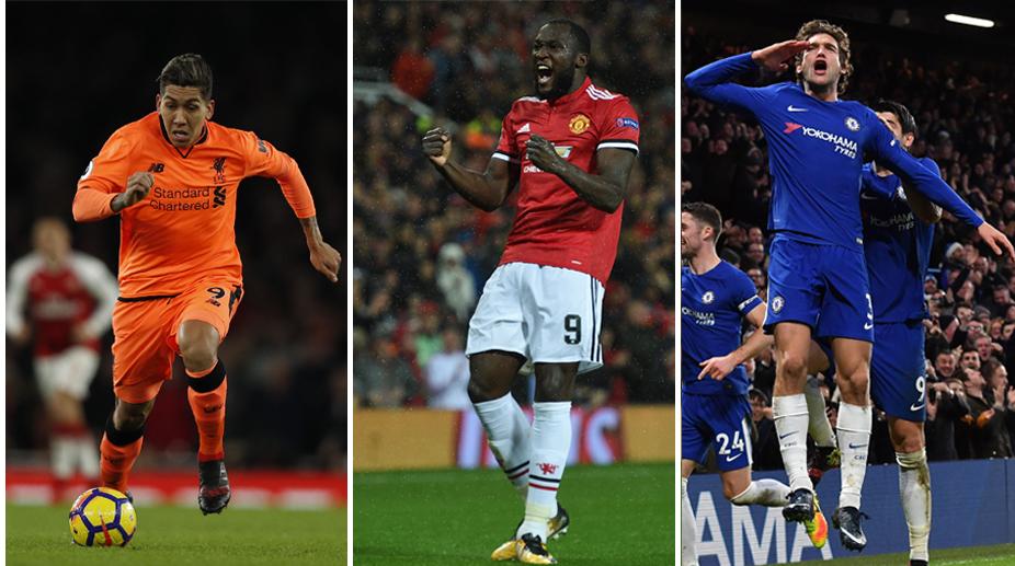Fantasy Premier League, Premier League, Marcos Alonso, Romelu Lukaku, Roberto Firmino, Manchester United F.C., Chelsea F.C., Liverpool F.C.