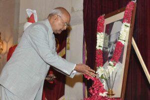 Kovind pays tribute to India's first President Rajendra Prasad