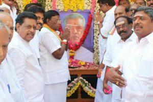 Former Pondy CM Venkatasubba Reddiar remembered