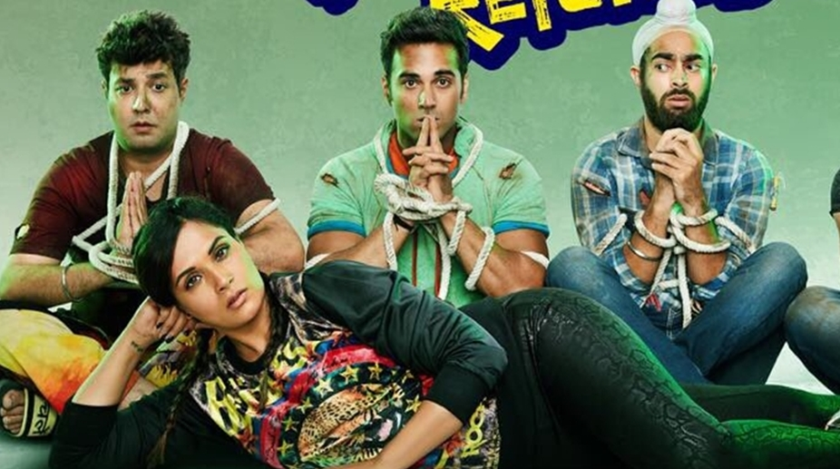 Fukrey Returns movie review: The narrative is piled high with breathless action