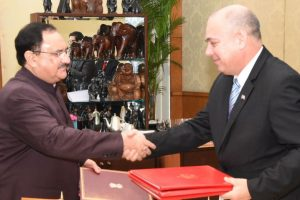India and Cuba sign MoU for enhanced cooperation in the health sector