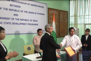 India, Myanmar sign MoU on Rakhine state development