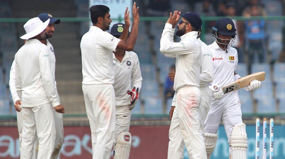 India, Sri Lanka, Test match