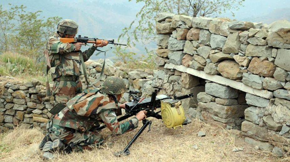 Five soldiers injured in cross-bordershelling in Poonch's Mendhar sector