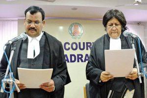 6 new Madras HC judges, including four women, sworn in