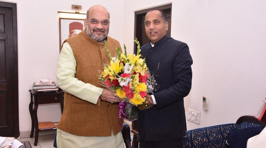 Himachal CM meets BJP chief