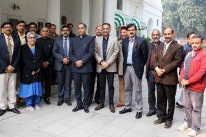 Himachal CM Jai Ram Thakur calls on Atal Bihari Vajpayee