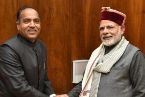 Himachal CM Jai Ram Thakur calls on PM Narendra Modi