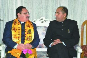 Never thought I will be CM, says Jairam Thakur
