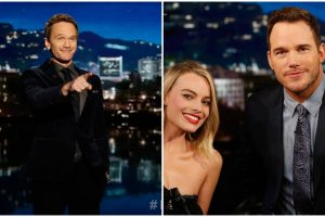 Pratt, Harris host 'Jimmy Kimmel Live!'