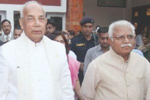 Haryana Guv, CM greet people on New Year's Eve