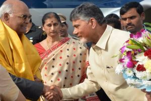 President Kovind begins two-day visit to Andhra Pradesh