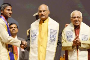 Mid-day meal promotes education, says President Kovind