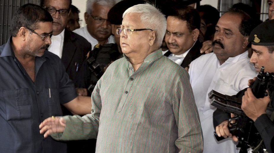 Fodder case judgment deferred; Lalu in hospital