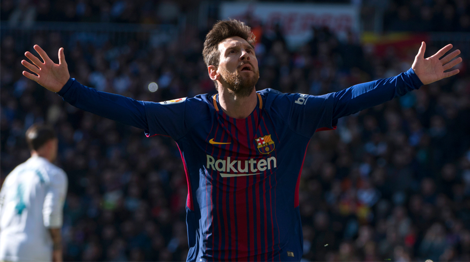 806b8e0eadb Barcelona dominate 10-man Real Madrid in Clásico to open up 9-point lead