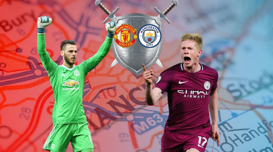 Manchester United vs Manchester City, Manchester United F.C., Manchester City F.C., Premier League, David de Gea, Kevin De Bruyne