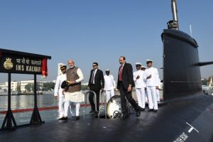 INS Kalvari: Overhauling of India's defence ecosystem has begun, says PM Modi