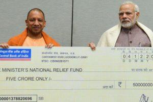 Cyclone Ockhi: UP CM Yogi donates Rs. 5 crore to PM relief fund