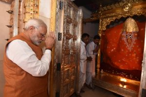 With prayers at Ambaji Temple, PM Modi ends Gujarat campaign