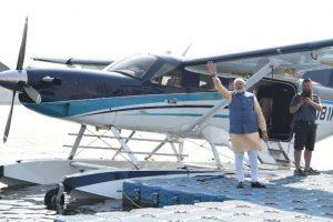 Seaplanes a boon for tourism, medical emergencies: PM Modi