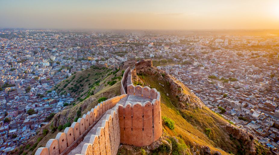 Nahargarh Fort, Jaipur, Contemporary Art, Tourists