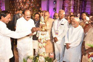 Naidu bats for native languages at World Telugu Conference