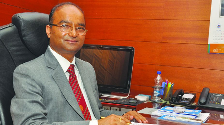 Nand Lal Sharma, SJVN chief, GoI joint venture,