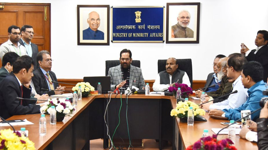 Mukhtar Abbas Naqvi, Portal, Haj, Private tour operators