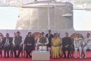 PM Modi commissions India's 1st indigenously-built Scorpene sub