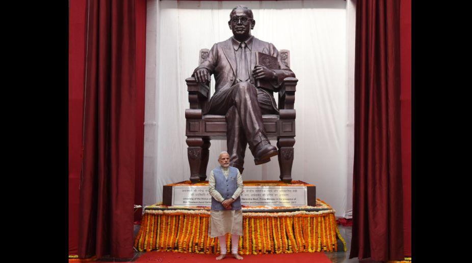 PM, Narendra Modi, Dr. BR Ambedkar