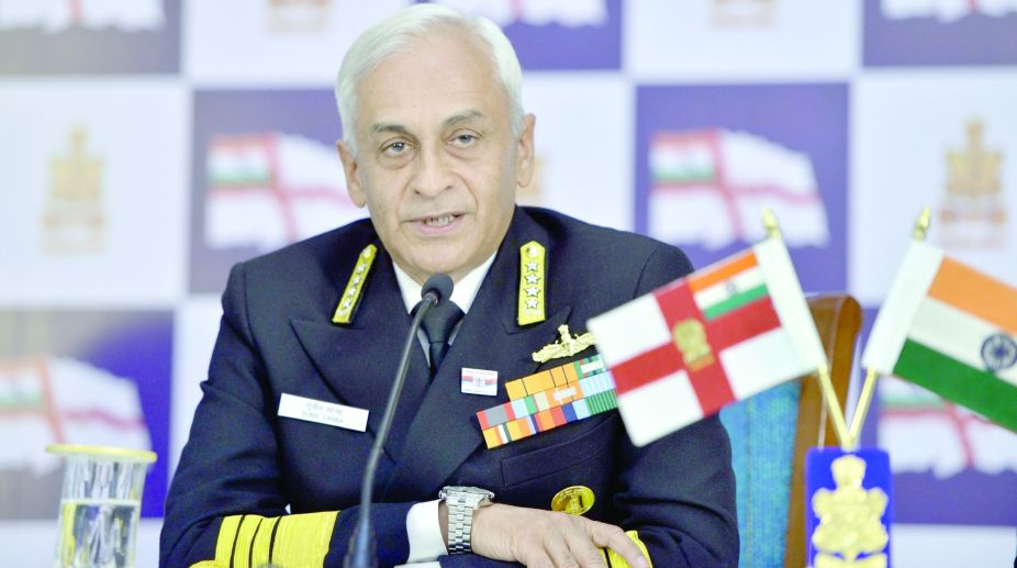 Indian Navy, Navy commanders, maritime security issues, Navy chief Admiral, Sunil Lanba