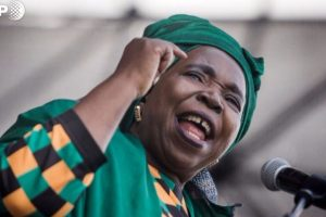 'Enigmatic' ex-wife of S Africa's Zuma vies for power