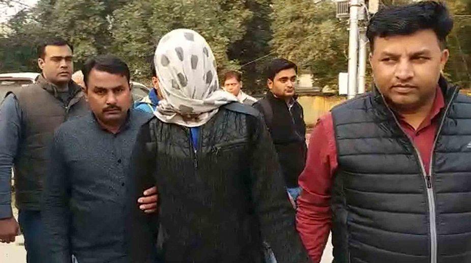 Suspect in Noida double murder