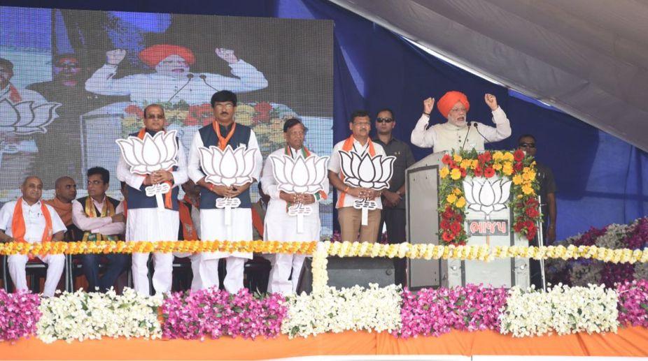 Prime Minister, Narendra Modi, Bharuch rally, Gujarat elections 2017