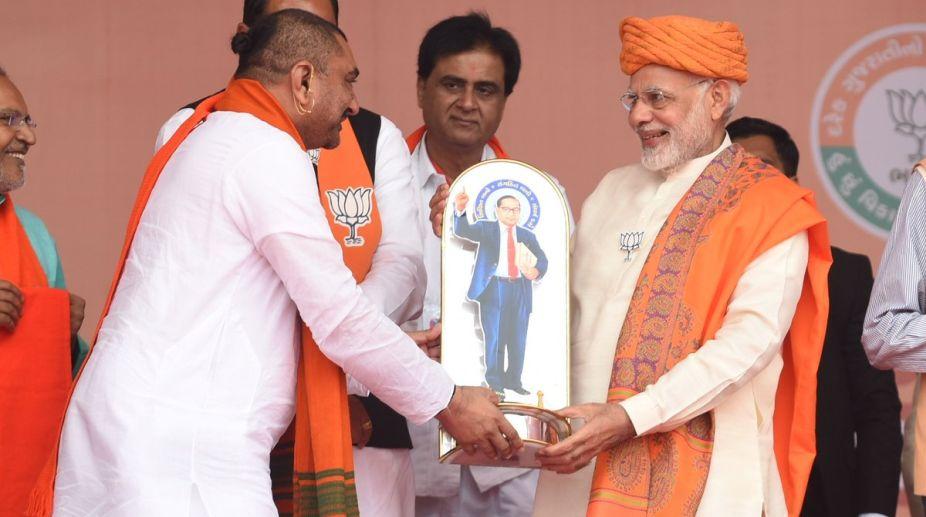 Prime Minister, Narendra Modi, Gujarat Elections, Dhandhuka rally, BJP
