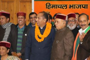 Himachal: Dhumal's hard luck became Jai Ram Thakur's good luck!