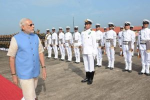 PM Modi greets navy personnel and their families on Navy Day
